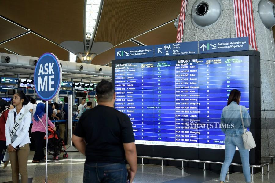 Police have recorded statements from 12 Malaysia Airports Holdings Berhad (MAHB) personnel over the system glitch which struck the Kuala Lumpur International Aiport (KLIA) two weeks ago. (BERNAMA)