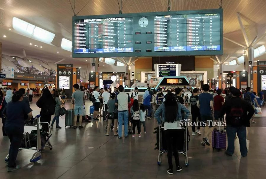 Malaysia Airports Holdings Berhad (MAHB) says it is now focusing on ways to improve immigration clearance, such as working with the Immigration Department to prevent passenger backlog. - NSTP/File pic