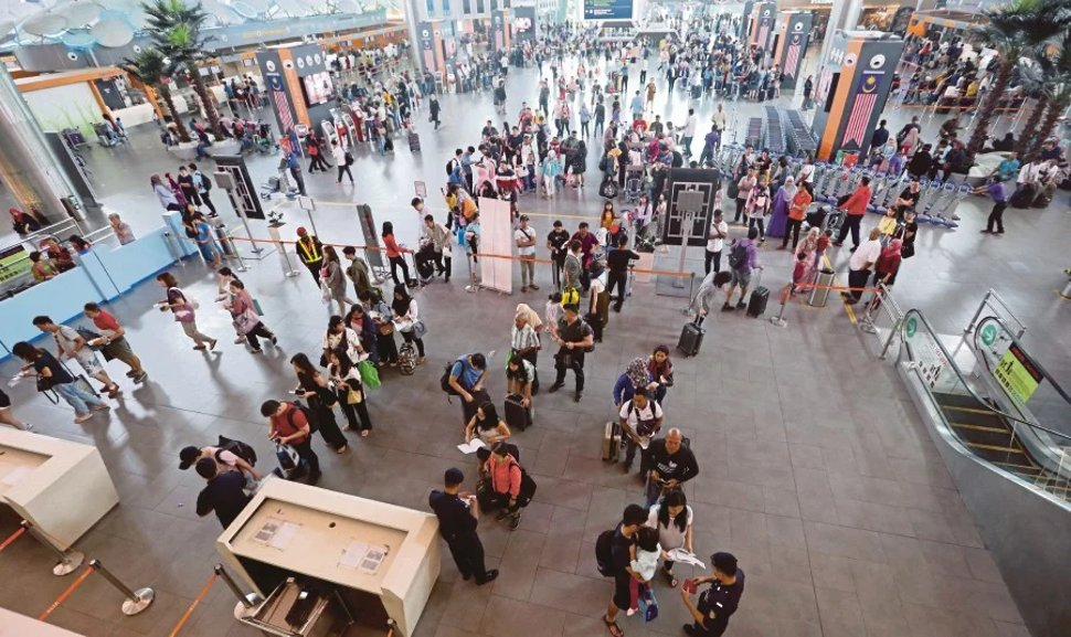 klia2 serves as a connnecting point for travellers from manay parts of the world