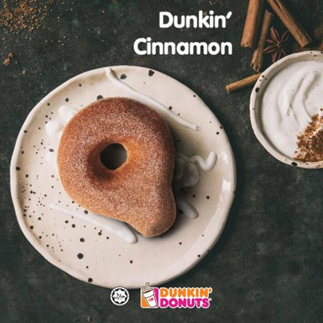 Dunkin' Donuts' delicious breakfast combo