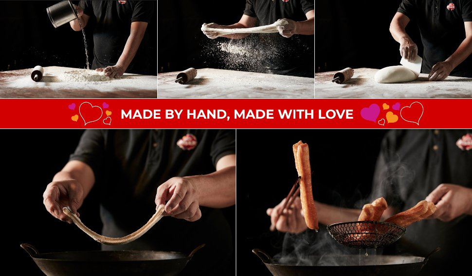 Made by hand, made with love