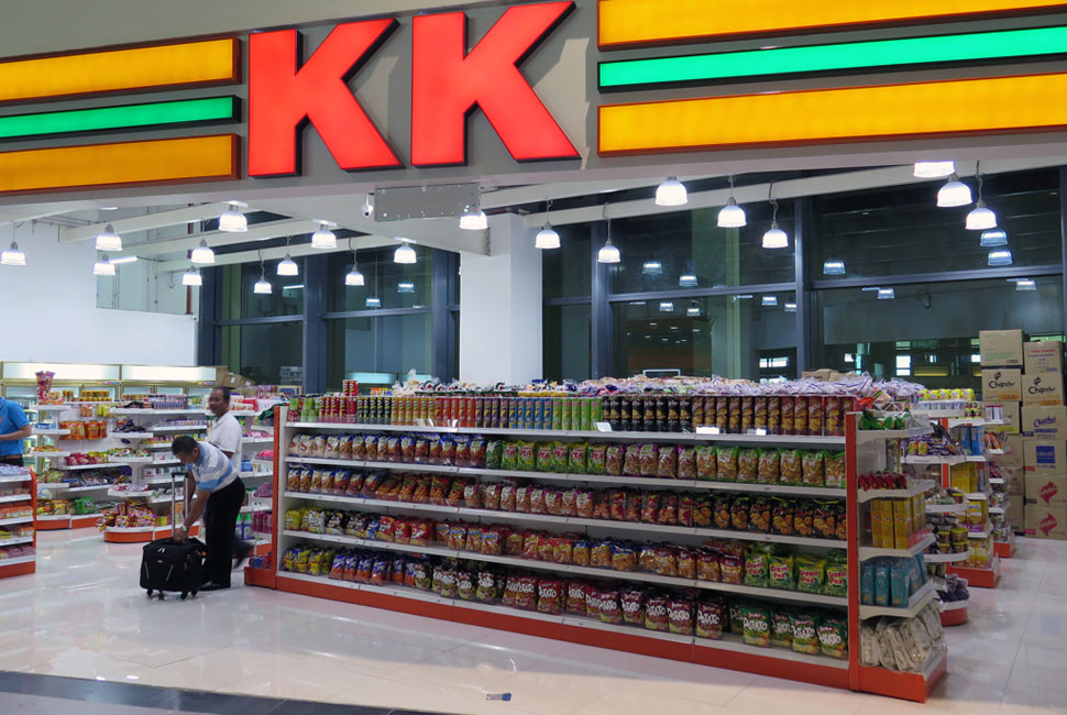KK Super Mart has all the things you need at fair prices