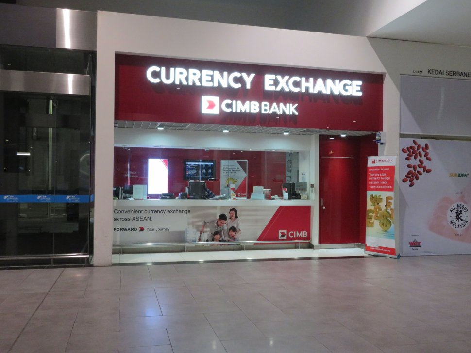 CIMB Currency Exchange at level 1 of Gateway@klia2 mall