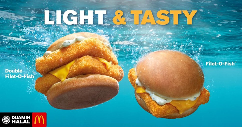 Filet-O-Fish & Double Filet-O-Fish