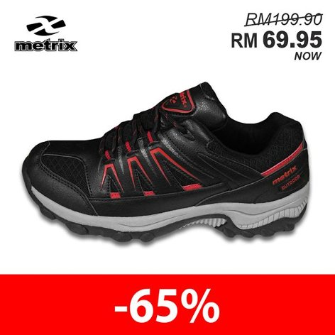 Metrix Unisex Hiking Shoe