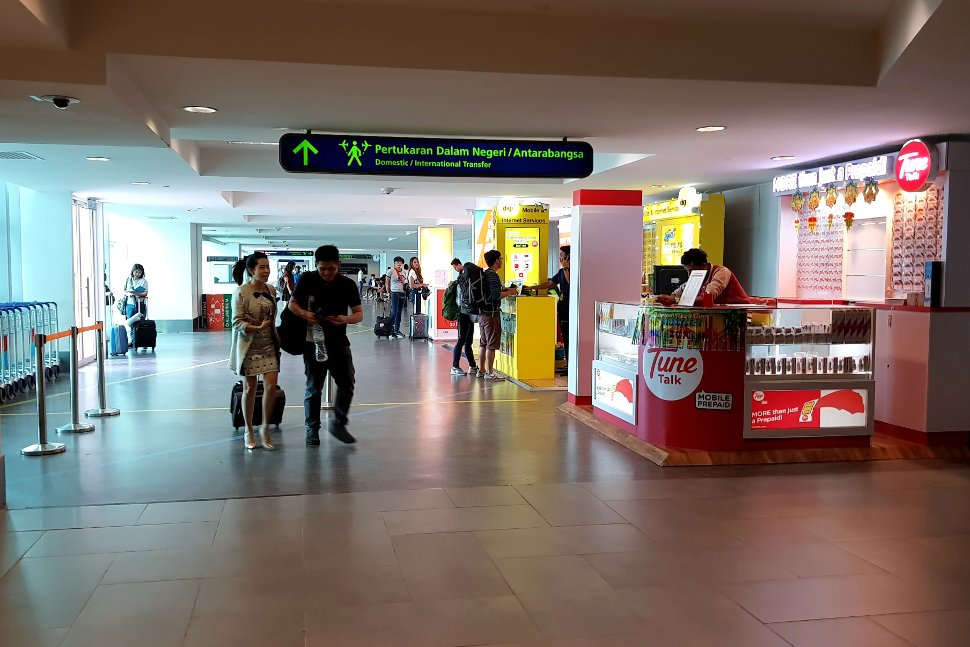 SIM cards / Phone booths near Arrival Hall