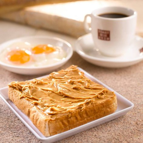 Peanut butter toast set