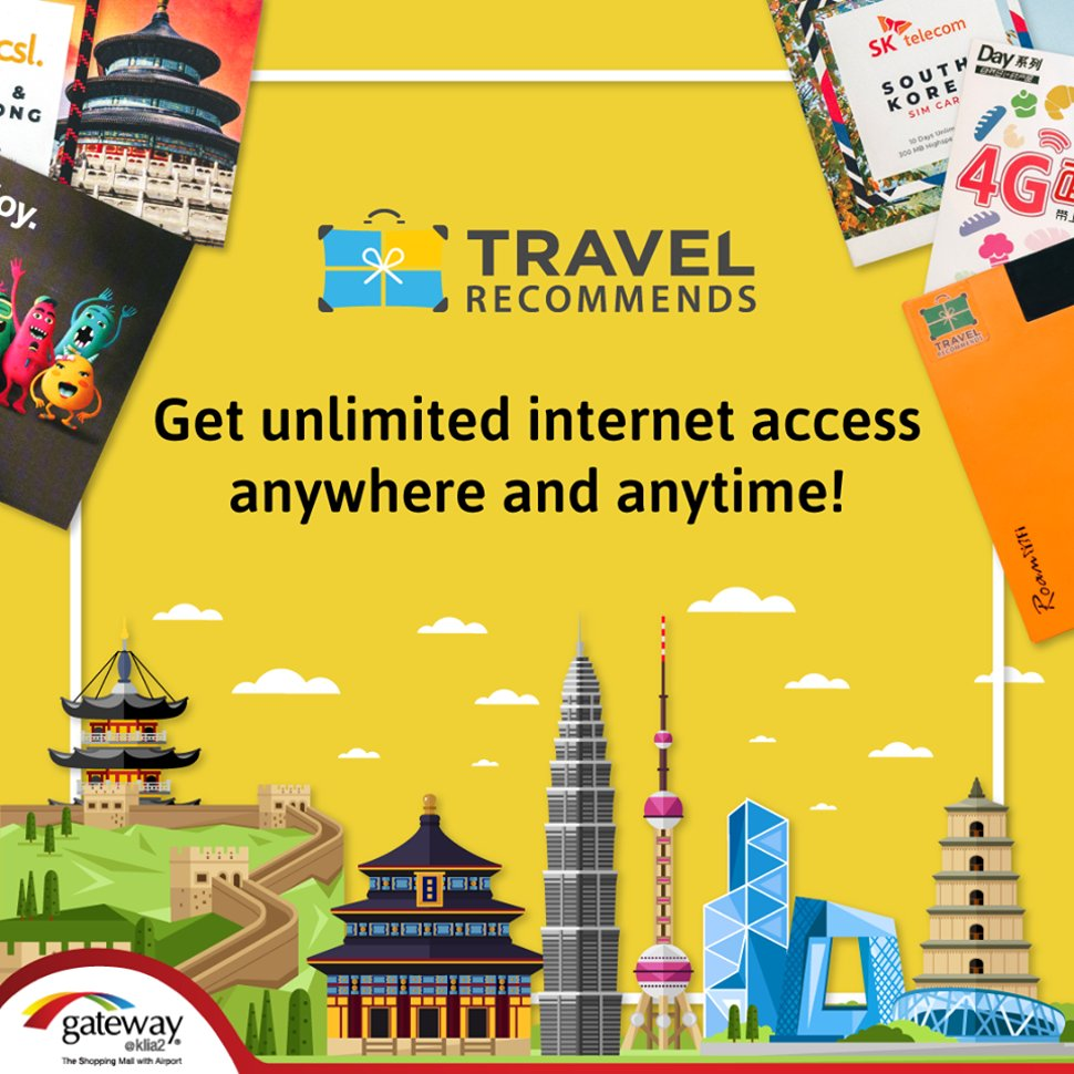 Get unlimited internet access anywhere and anytime