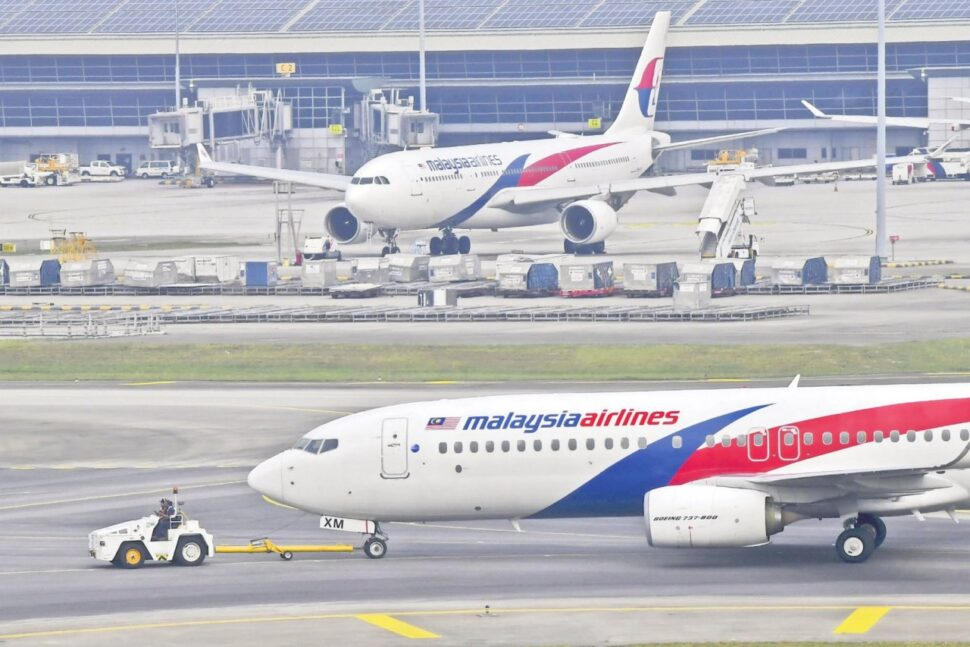 Malaysia Airlines aircrafts