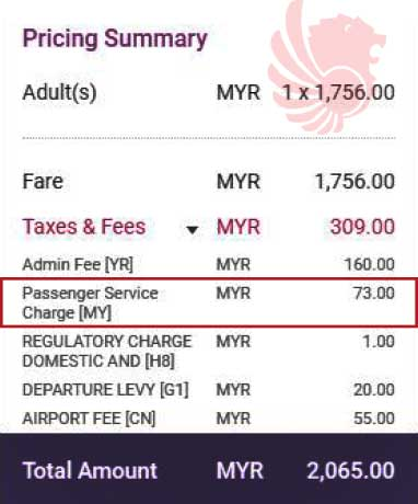 Malindo Air on PSC