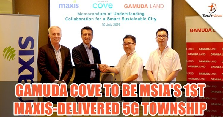 Maxis and Gamuda signed new MoU