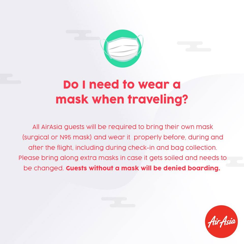 FAQ - Do I need to wear a mask when traveling?