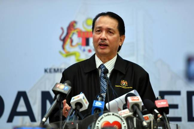 Health director-general Datuk Dr Noor Hisham Abdullah during today's press conference on Covid-19. - Bernama