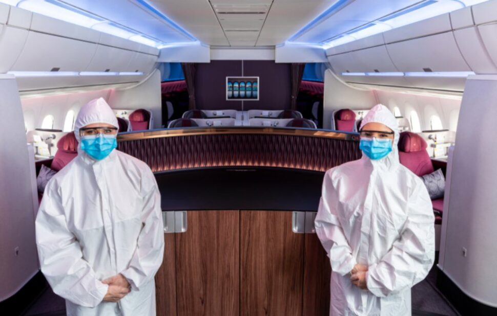 """As an airline, we maintain the highest possible hygiene standards to ensure that we can fly people home safely,"" says His Excellency Qatar Airways Group Chief Executive Akbar Al Baker"