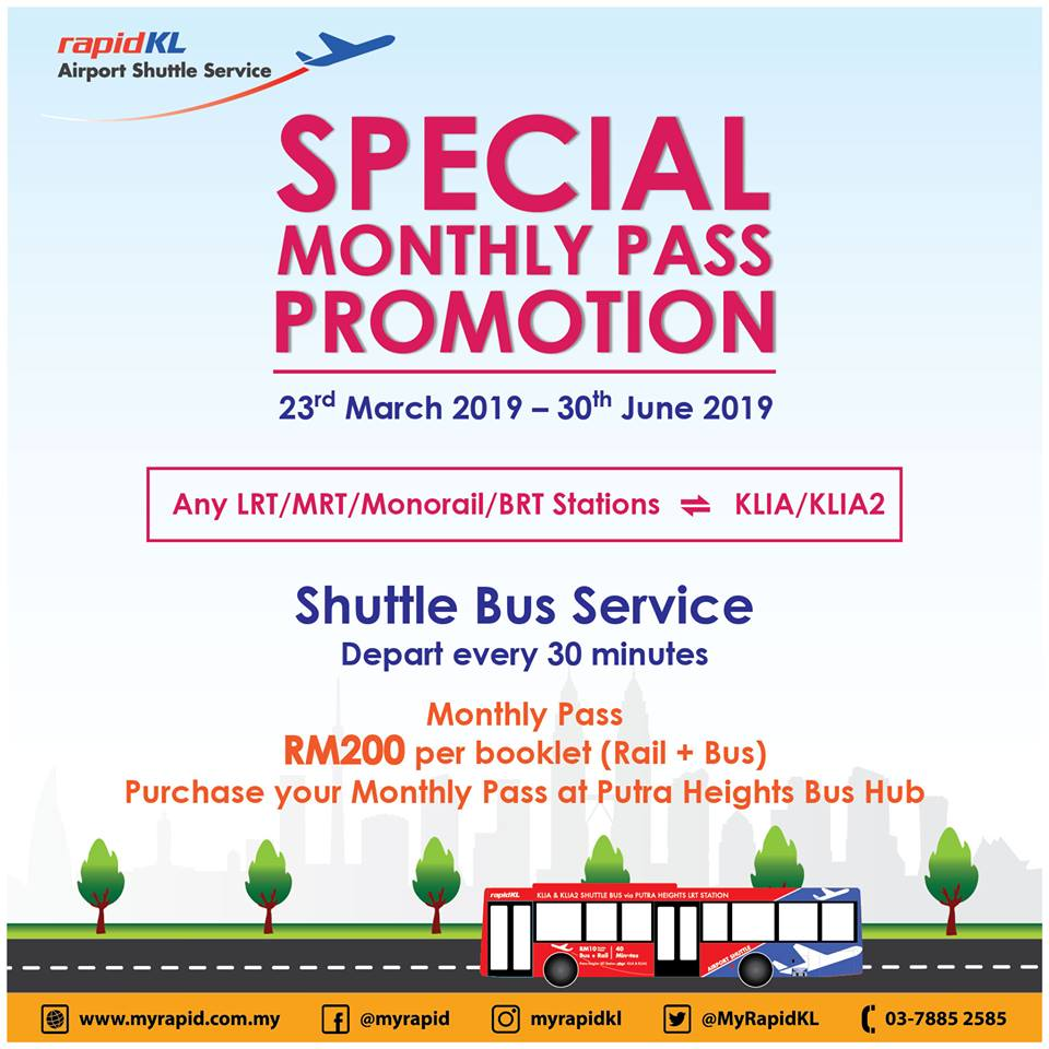 RapidKL's Special Monthly Pass Promotion