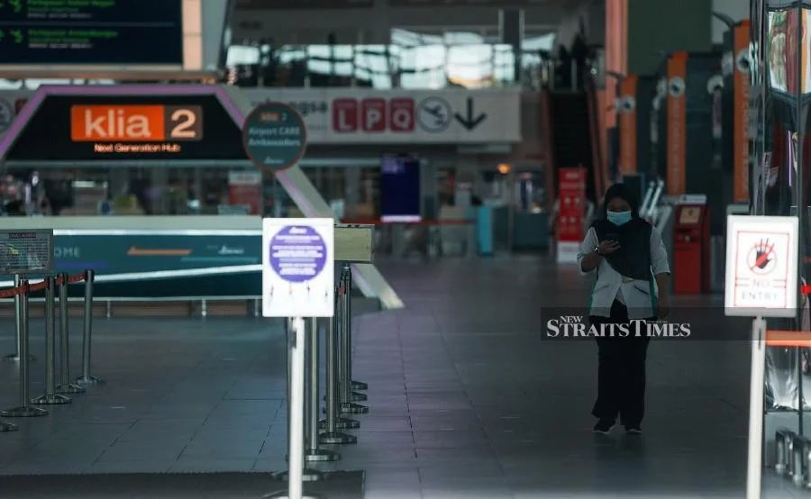 A total of 707 Malaysians returned home via KLIA and klia2 on Friday. NSTP /LUQMAN HAKIM ZUBIR