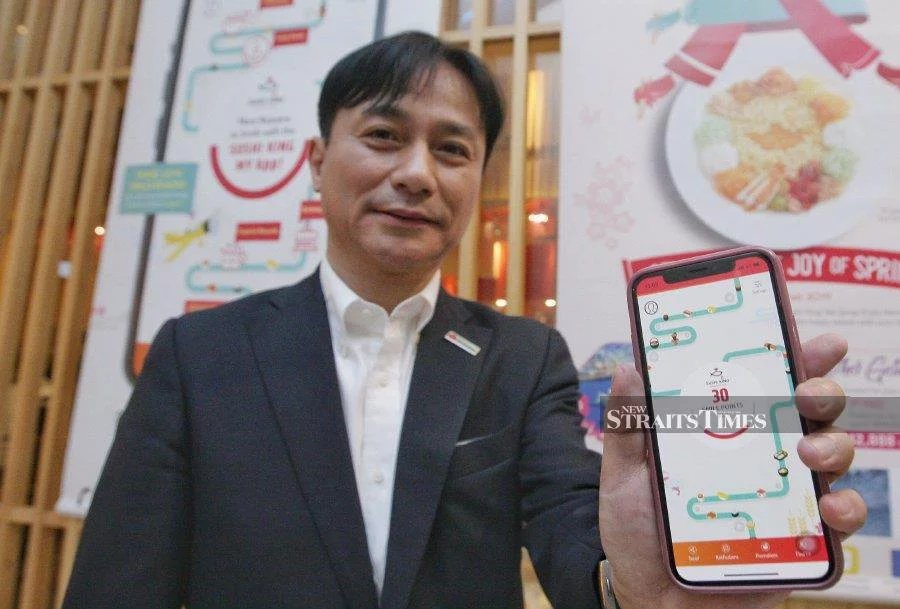 Sushi Kin Sdn Bhd managing director Hiroki Mori says the company is expected to reach 200 outlets from the current 135 outlets across Malaysia, covering major towns and malls. NST picture by Zulfadhli Zulkifli.