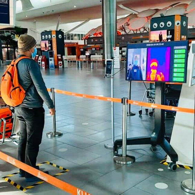 Thermal Scanners Now Installed At KLIA Terminal 1 And 2 Departure Halls